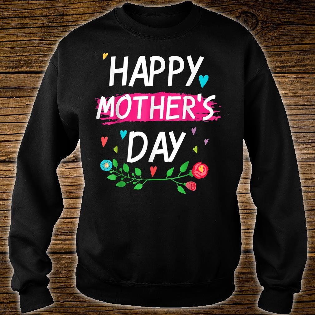 Happy Mother's Day For Mom And And Grandma Shirt sweater